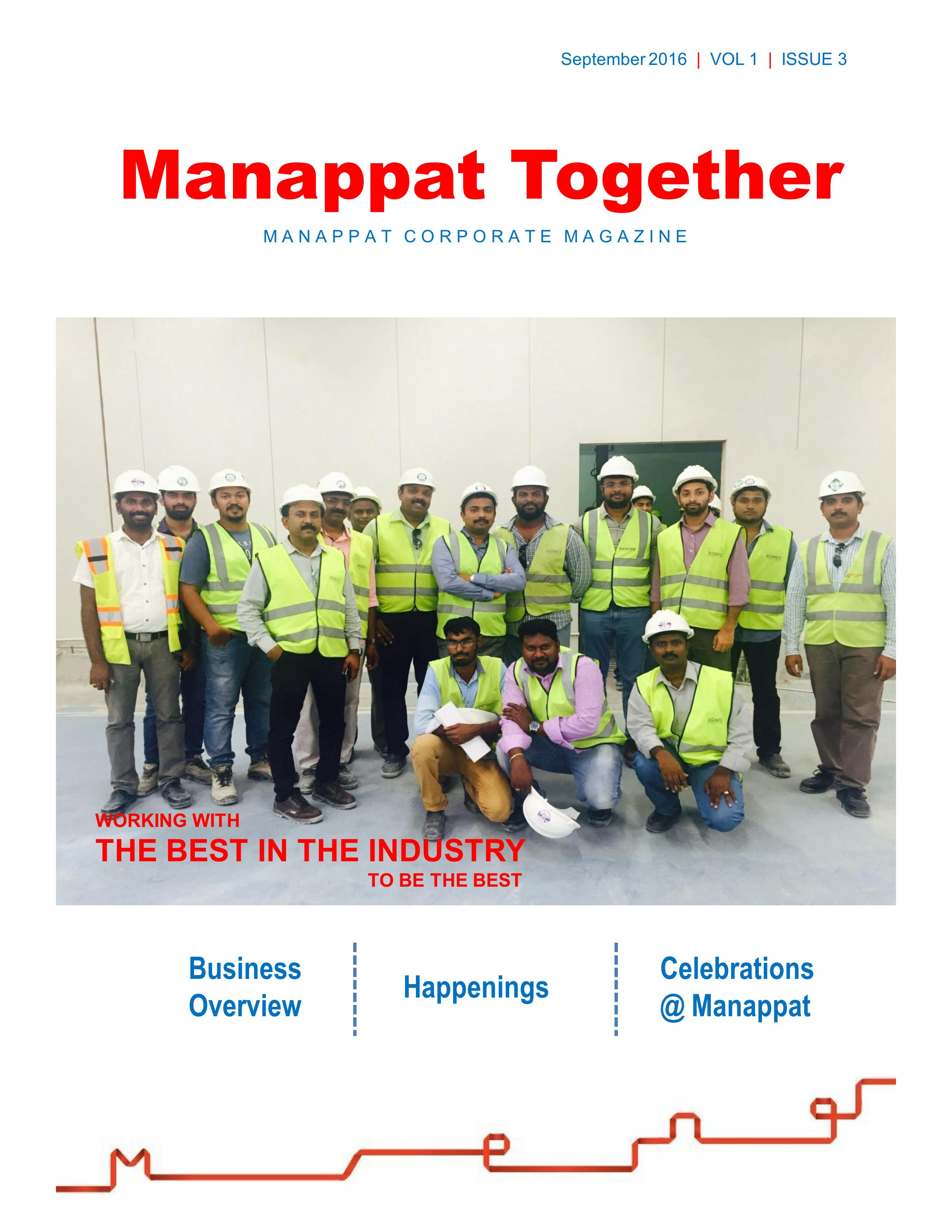 Manappat Together Volum-I Issue -3