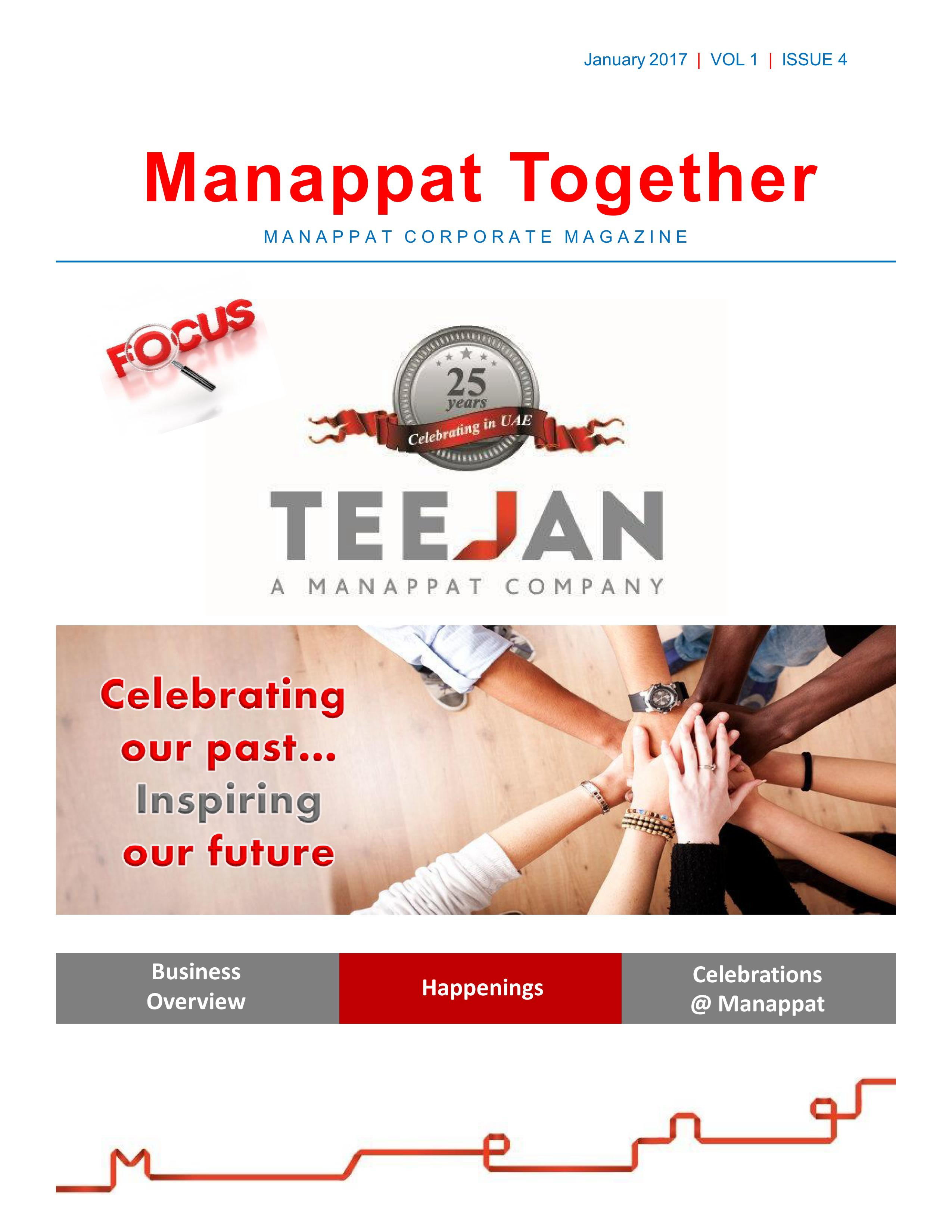 Manappat Together Volume-1-Issue-4