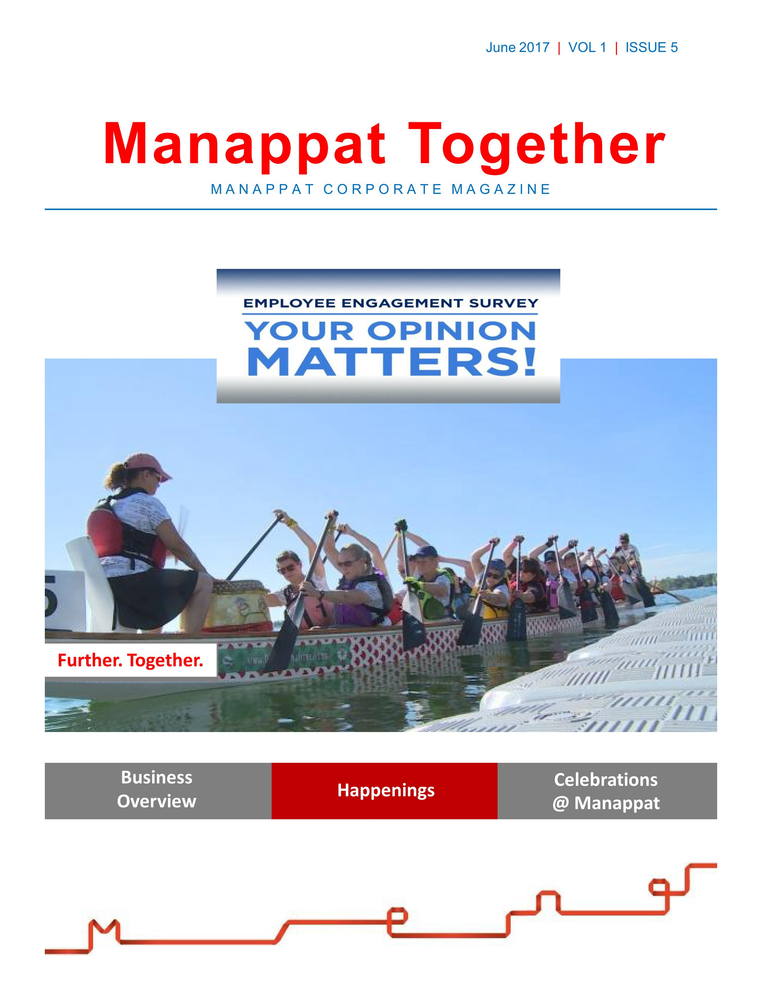Manappat Together Volume-1-Issue-5