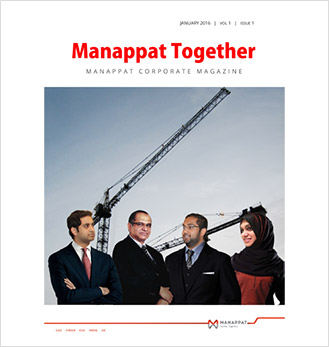 Manappat Together Volume-I Issue-1